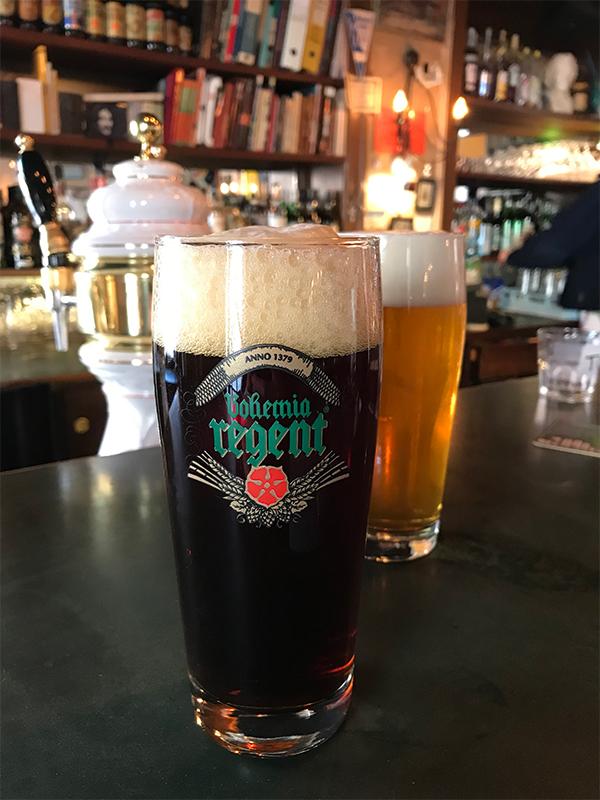 Bohemia Regent fadøl hos Cafe Svejk