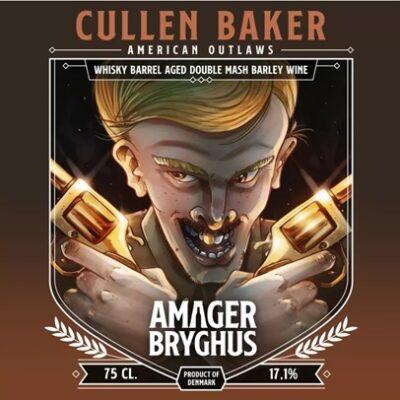 Cullen Baker Barley Wine fra Amager Bryghus American Outlaws