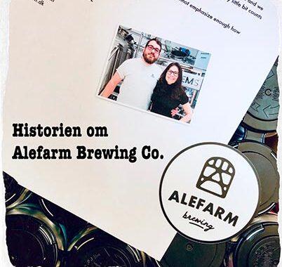 Alefarm Brewing Co. opstod i 2015 i Køge, men ligger nu i Greve
