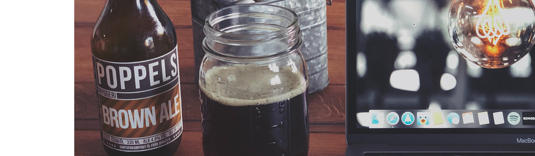 Brown Ale fra svenske Poppels Bryggeri
